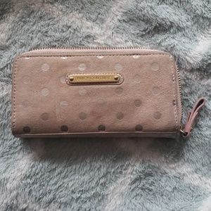 Juicy Couture suede wallet